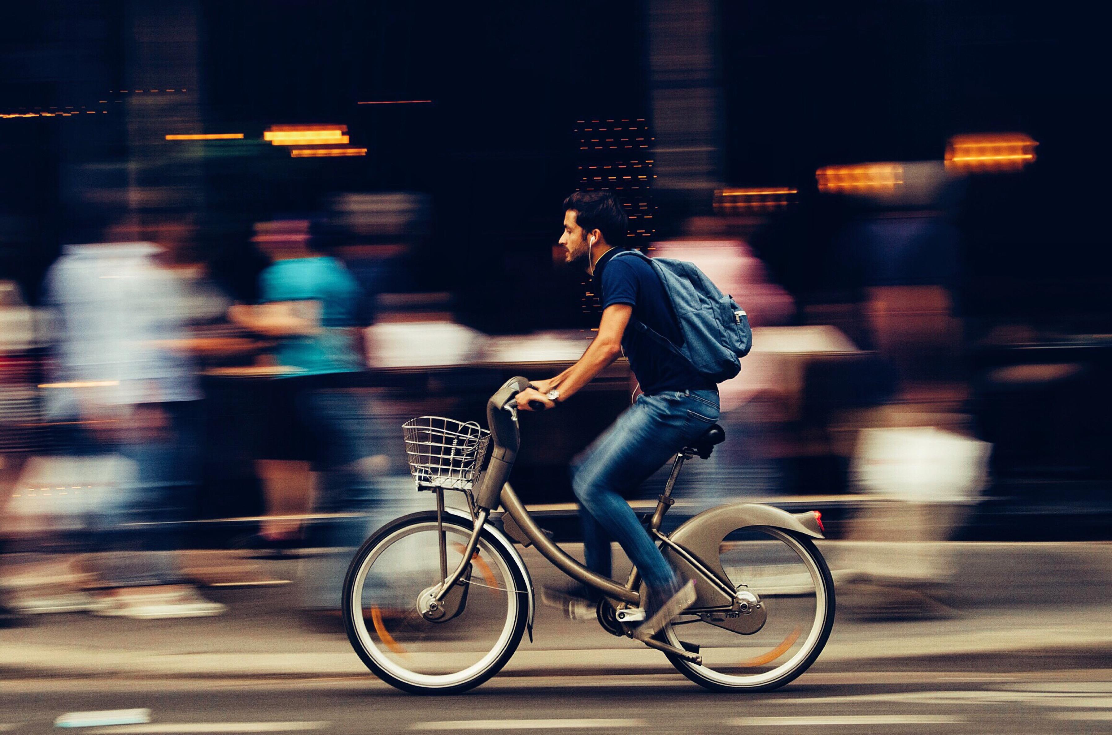 Sneller op weg met een elektrische fiets