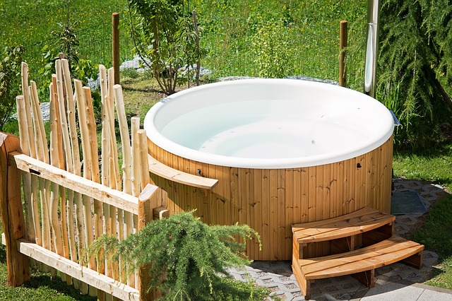 Lekker cozy in je hottub