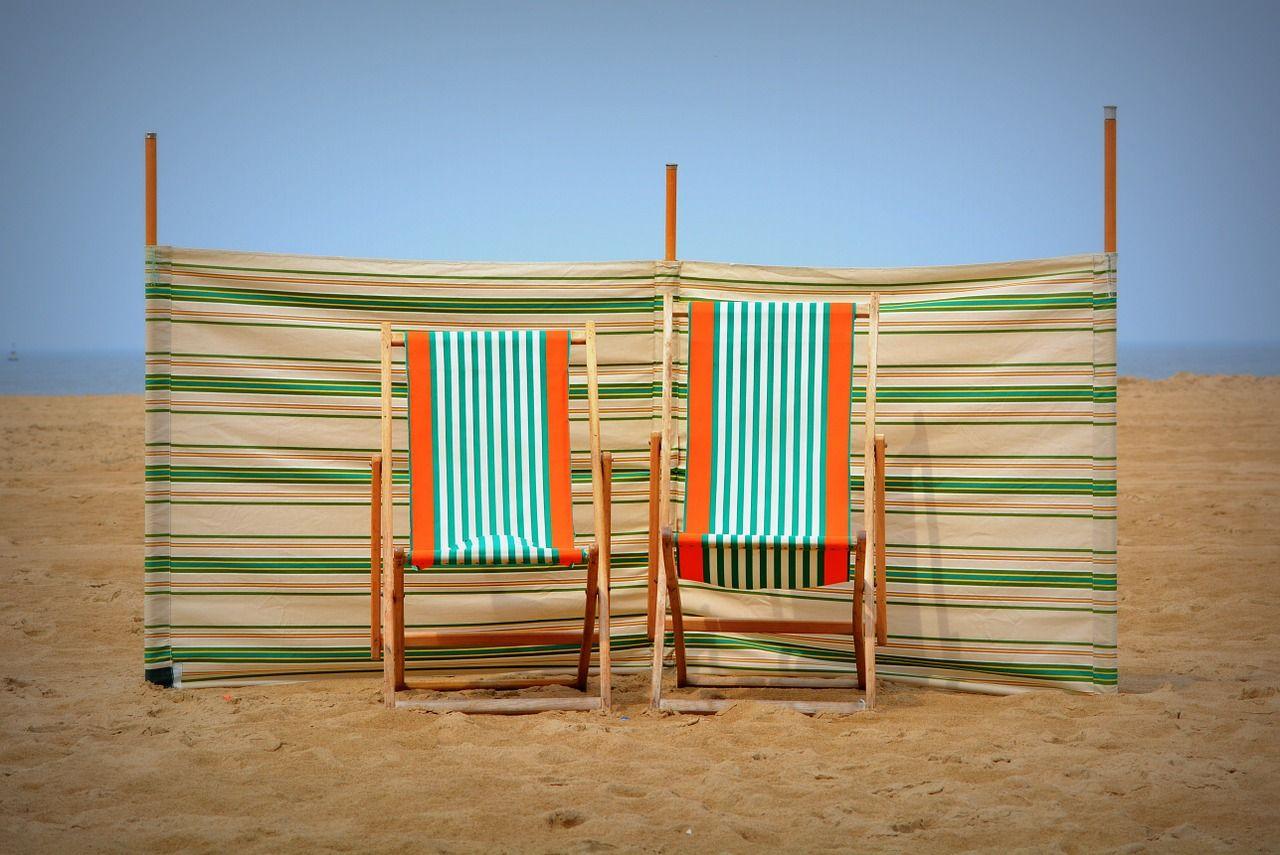 Een strandstoel maakt jouw tuintje knus