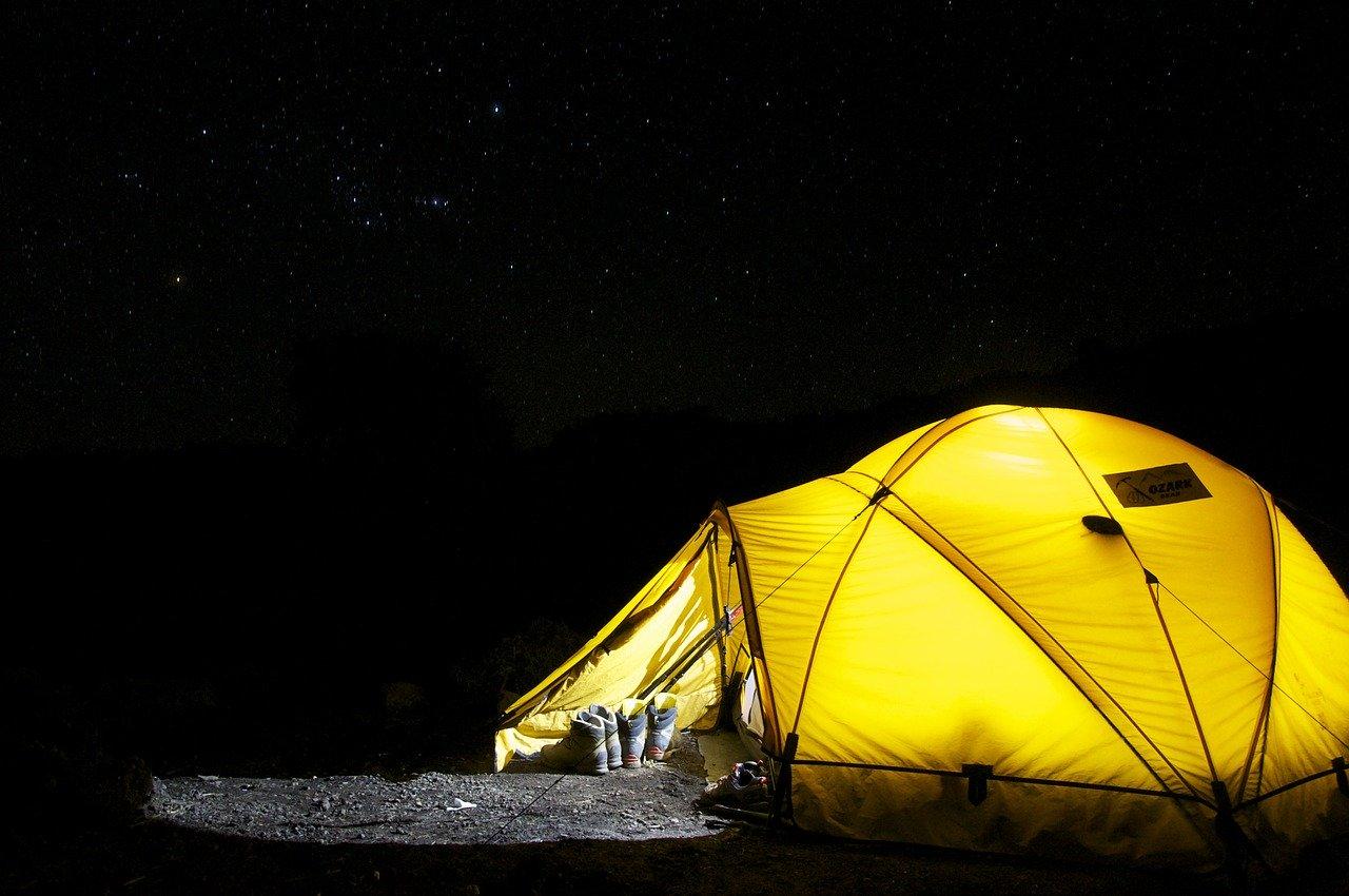 De gezelligheid van kamperen